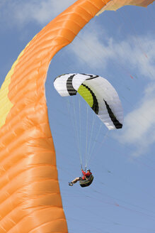 Paraglider up in the air - LAF001043