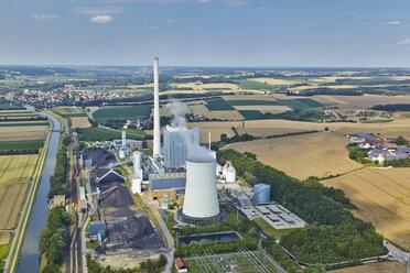 Germany, Bavaria, aerial view of power plant - KD000009