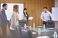 Business meeting in boardroom - ZEF000280