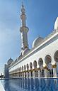 United Arab Emirates, Abu Dhabi, View of Sheikh Zayed Mosque - HSI000341