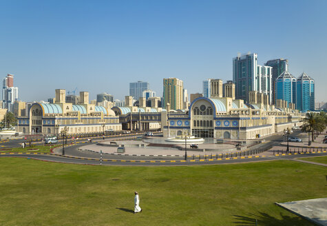 United Arab Emirates, Sharjah, Blue Souk - HSI000355
