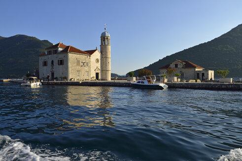 Montenegro, Crna Gora, Gospa od Skrpjela island near Perast in the Bay of Kotor - ES001382
