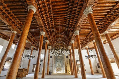 Turkey, Ankara, Interior of Arslanhane mosque - SIE005906