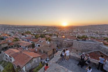Turkey, Ankara, View of the city from Ankara citadel - SIEF005929