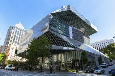 USA, Washington State, Seattle, Seattle Public Library - FO007183