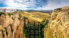 Spain, Andalusia, Malage Province, Ronda, Panorama - PUF000088