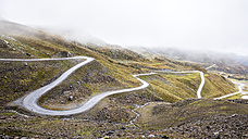 Austria, Tyrol, Oetztal Alps, Mountain road Kaunertaler Gletscherstrasse - STSF000522