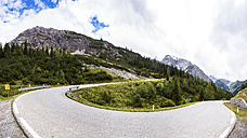 Austria, Tyrol, Mountain pass to Hahntennjoch - STSF000523