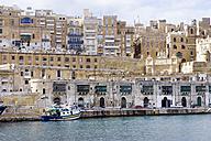 Malta, Valletta, cityscape seen from Grand Harbour - WEF000246
