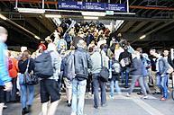 Germany, Berlin, station Ostkreuz, commuters on the go - ZM000378