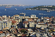 Turkey, Istanbul, View from Galata Tower over Golden Horn and Bosphorus - ES001421