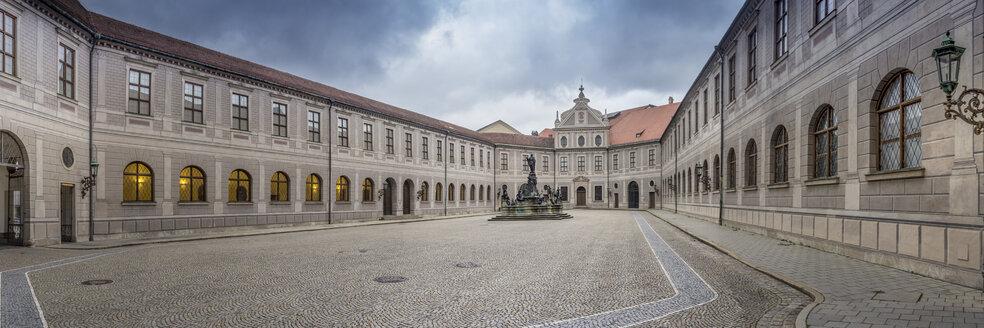 Germany, Bavaria, Munich, Panorama view of the Atrium of Munich Residence - NK000188