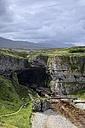 UK, Scotland, Durness, entrance to Smoo Cave - ELF001318