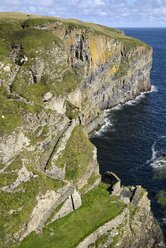 United Kingdom, Scotland, Whaligoe steps to the bay - ELF001358