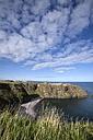 United Kingdom, England, Scotland, Aberdeenshire, Stonehaven, Dunnottar Castle at North Sea Coast - EL001369