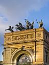 Italy, Sicily, Palermo, Teatro Politeama Garibaldi, close up of quadriga - AM002883