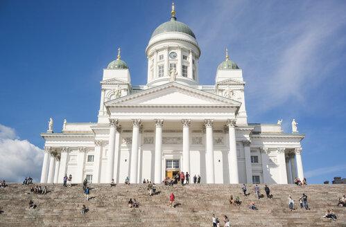 Finland, Helsinki, view to Helsinki Cathedral - FL000520