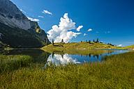 Germany, Bavaria, Allgaeu, Allgaeu Alps, Unterer Gaisalpsee - WGF000467