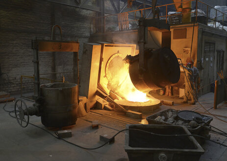 Deslagging at blast furnace in a foundry - SCH000420