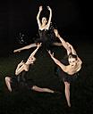 Multiple image of posing ballerina - FCF000462