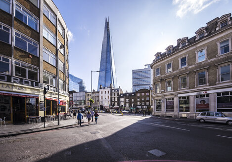 UK, London, Southwark, View of The Shard - THAF000689