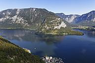 Austria, Salzkammergut, Hallstatt, Lake Hallstatt - SIEF006041