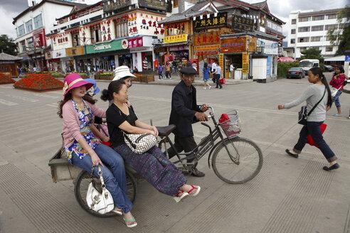 China, Yunnan, Shangri-La County, Lijiang, old town - DSG000224
