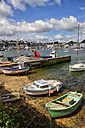 France, Brittany, Audierne, Boats at harbour - DSG000733