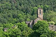 Spain, Province of Huesca, church in mountain village Buesa - DSGF000402