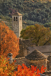 Spain, Province of Huesca, church in mountain village Fanlo - DSGF000478