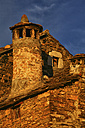 Spain, Province of Huesca, Puertolas, stone house in mountain village Bestue - DSGF000537