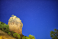 Spain, Castille-La Mancha, Starry hnght at Barranco de la Virgen de La Hoz - DSGF000553