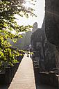 Germany, Saxony, Saxon Switzerland, National Park, Bastei Bridge - MJ001370