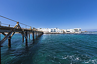 Spain, Canary Islands, Lanzarote, Punta de la Vela, Fishing village near Arrieta - AMF002908