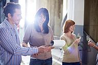 Wine tasting on shop floor - ZEF001452