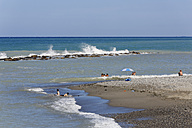 Turkey, Black Sea Region, Samsun Province, Yakakent, Black Sea, beach - SIE006085