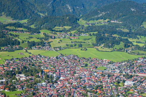 Germany, Bavaria, Allgaeu, View to Oberstdorf - WGF000485