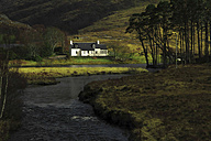 UK, Scotland, Highlands, house by the river - DLF000004
