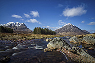 UK, Scotland, Highlands, Glen Coe, Glen Etive - DLF000017