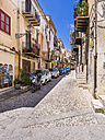 Italy, Sicily, Province of Palermo, Monreale, Old town, Alleyway - AMF002962