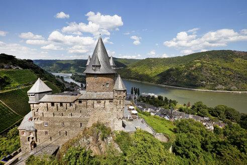 Germany, Rhineland-Palatinate, Bacharach, Stahleck Castle - CS023120
