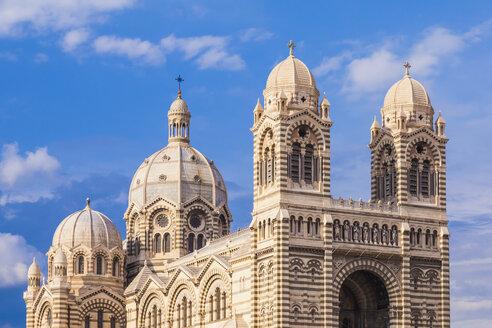 France, Provence-Alpes-Cote d'Azur, Bouches-du-Rhone, Marseille, Cathedrale de la Major - WDF002691