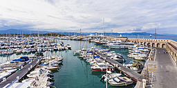 France, Cote d'Azur, Antibes, marina - WDF002720