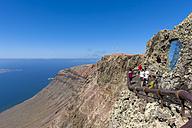 Spain, Canary Islands, Lanzarote, viewpoint Mirador del Rio - AM002992