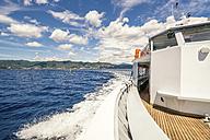 Italy, Liguria, Cinque Terre, Riviera di Levante, Portofino, Ferry - PU000102