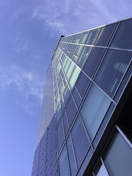 High-rise building at central station, Freiburg, Germany - DR001127