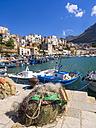 Italy, Sicily, Province of Trapani, Fishing village Castellammare del Golfo, Harbour - AMF003022