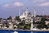 Turkey, Istanbul, View to Sultan Ahmed Mosque - THAF000802