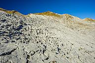 Austria, Allgaeu Alps, Vorarlberg, Little Walser Valley, Gottesacker Plateau, Karst, Hahnenkopf in the background - WGF000511