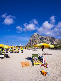 Italy, Sicily, Province of Trapani, San Vito lo Capo, Beach - AM003090